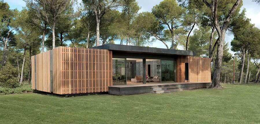 casas sostenibles prefabricadas